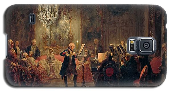 Flute Concert With Frederick The Great In Sanssouci Galaxy S5 Case