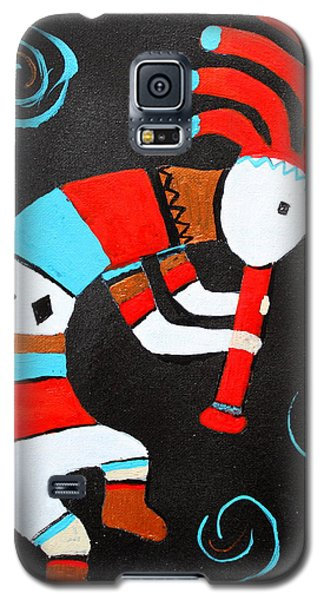 Flute Player Galaxy S5 Case