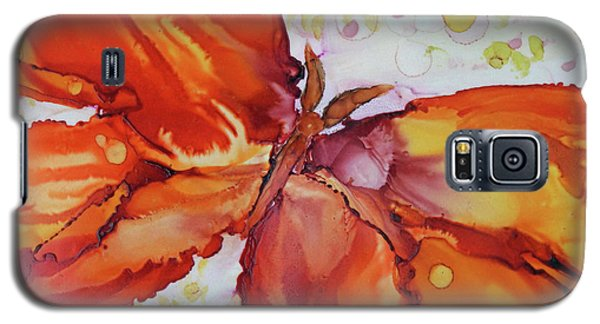 Galaxy S5 Case featuring the painting Flutter by Joanne Smoley