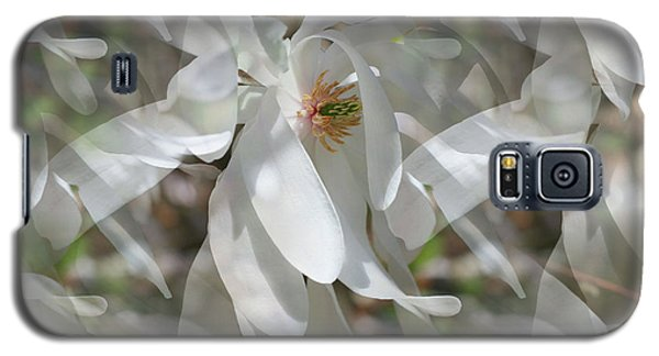 Galaxy S5 Case featuring the photograph Fluttering Magnolia Petals by Smilin Eyes  Treasures