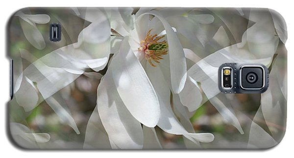Fluttering Magnolia Petals Galaxy S5 Case