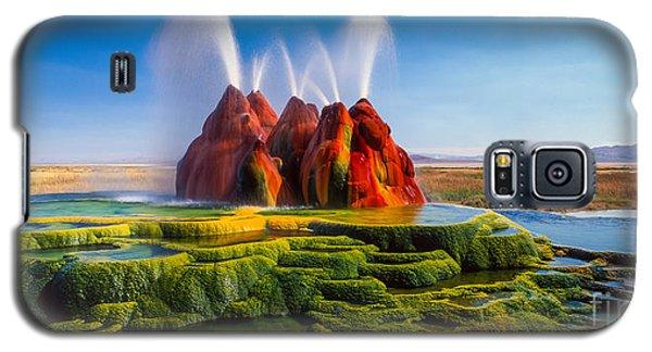 Fly Geyser Panorama Galaxy S5 Case