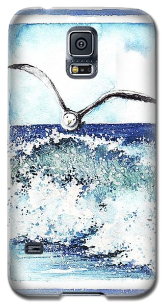 Galaxy S5 Case featuring the painting Fly High by Heidi Kriel