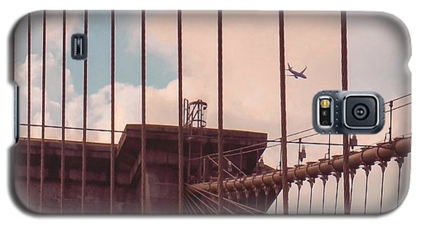Fly Over Brooklyn  Galaxy S5 Case