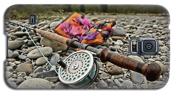Fly Rod And Streamers Landscape Galaxy S5 Case