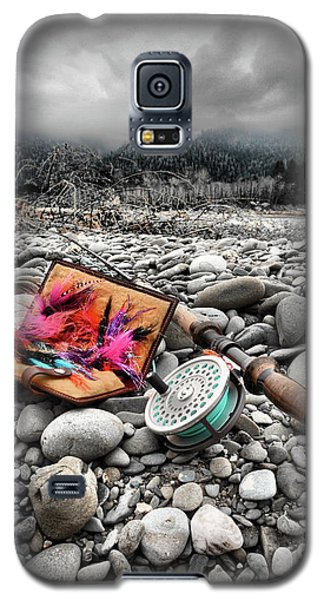 Fly Rod And Streamers Portrait Galaxy S5 Case