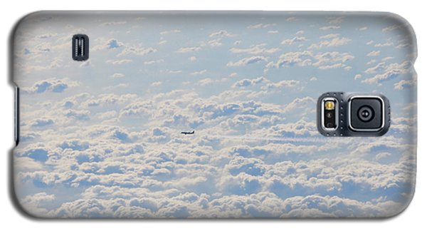 Galaxy S5 Case featuring the photograph Flying Among The Clouds by Bill Cannon