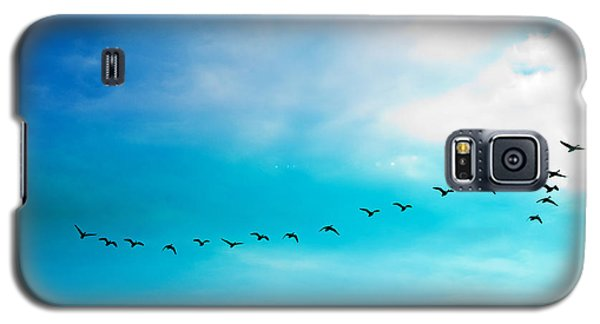 Flying Away Galaxy S5 Case