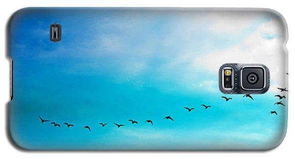Flying Away Galaxy S5 Case