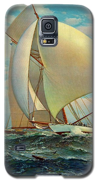 Galaxy S5 Case featuring the photograph Flying Defender 1895 by Padre Art