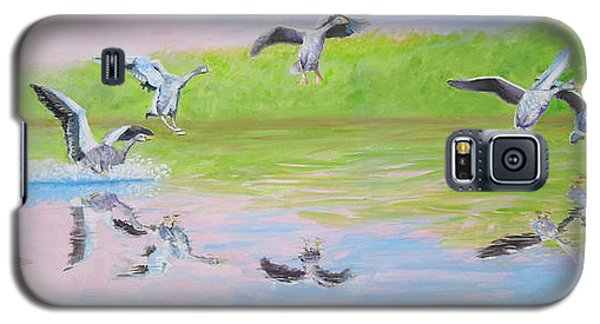 Flying Geese Galaxy S5 Case