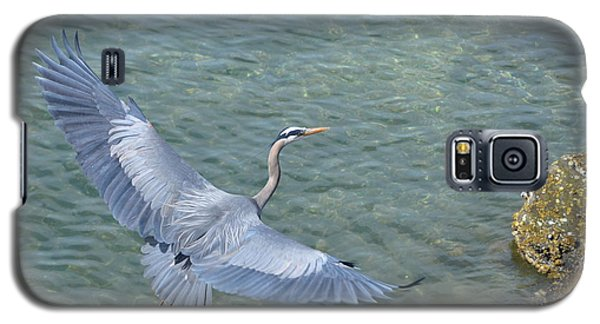 Flying Heron Galaxy S5 Case by Jerry Cahill