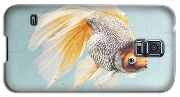 Flying In The Clouds Of Goldfish Galaxy S5 Case by Chen Baoyi
