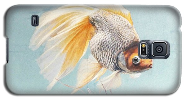 Flying In The Clouds Of Goldfish Galaxy S5 Case