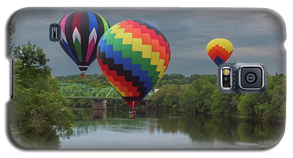 Flying Over The Androscoggin Galaxy S5 Case