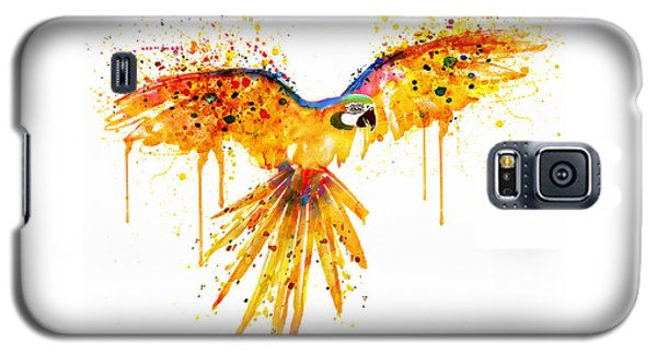 Flying Parrot Watercolor Galaxy S5 Case