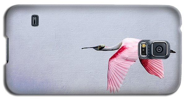 Flying Pretty - Roseate Spoonbill Galaxy S5 Case