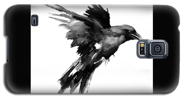 Flying Raven Galaxy S5 Case by Suren Nersisyan