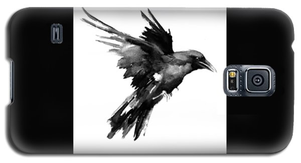 Raven Galaxy S5 Case - Flying Raven by Suren Nersisyan