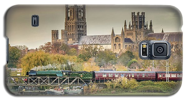 Flying Scotsman At Ely Galaxy S5 Case