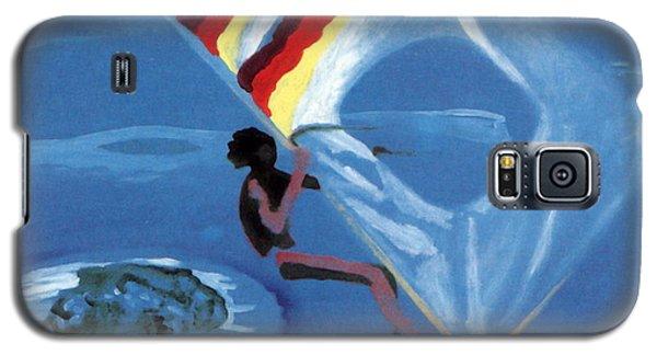 Flying Windsurfer Galaxy S5 Case