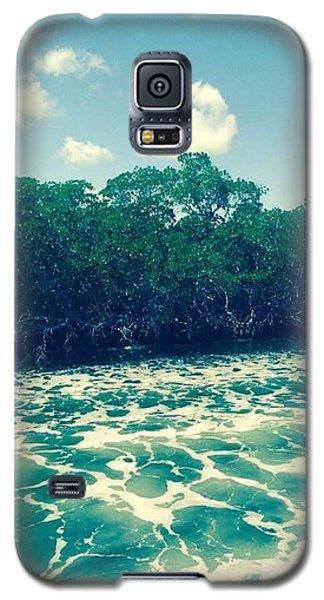 Foamy Water Galaxy S5 Case