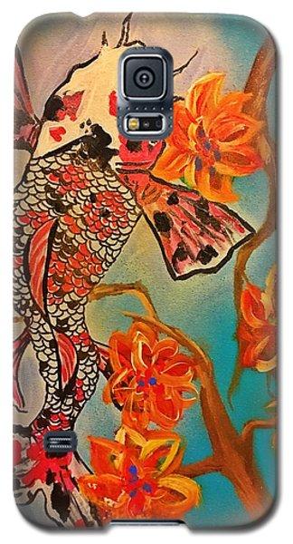 Focus Flower  Galaxy S5 Case by Miriam Moran