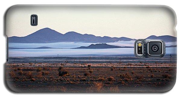Fog In The Peloncillo Mountains Galaxy S5 Case