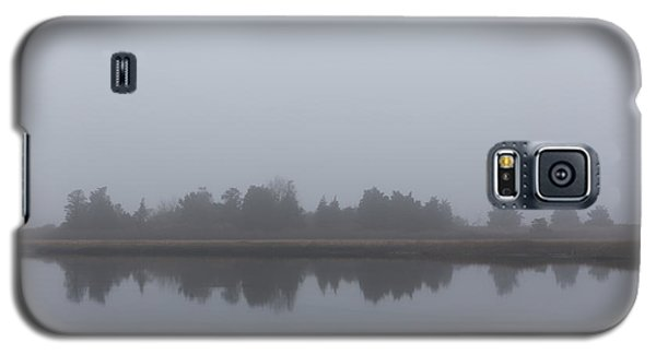 Galaxy S5 Case featuring the photograph Fog On The Marsh by Andrew Pacheco