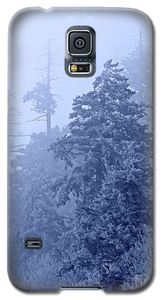 Galaxy S5 Case featuring the photograph Fog On The Mountain by John Stephens