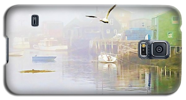 Fog Over West Dover - Digital Paint Galaxy S5 Case