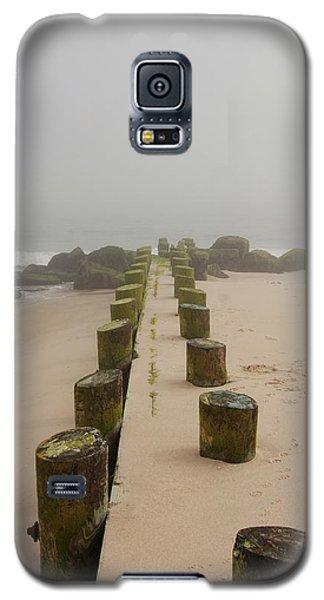 Fog Sits On Bay Head Beach - Jersey Shore Galaxy S5 Case