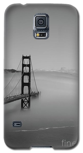 Galaxy S5 Case featuring the photograph Fogging The Bridge by David Bearden