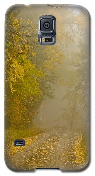 Foggy Autumn Morn Galaxy S5 Case