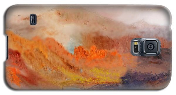 Foggy Autumnal Dream Galaxy S5 Case