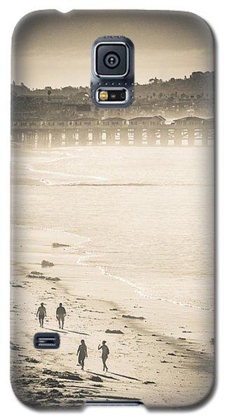Foggy Beach Walk Galaxy S5 Case