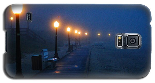 Foggy Boardwalk Blues Galaxy S5 Case