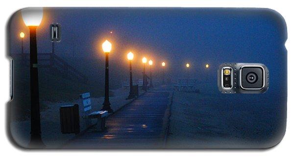 Foggy Boardwalk Blues Galaxy S5 Case by Bill Pevlor