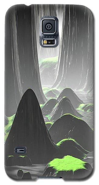Foggy Canyon Walls Galaxy S5 Case