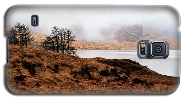 Foggy Day At Loch Arklet Galaxy S5 Case by Jeremy Lavender Photography