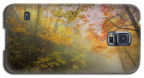 Foggy Fall Foliage II Galaxy S5 Case