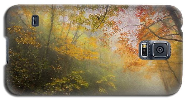 Foggy Fall Foliage II Galaxy S5 Case