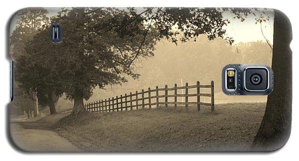 Foggy Fence Line Galaxy S5 Case
