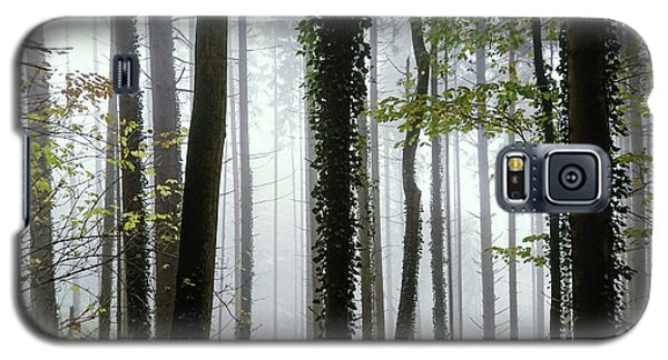Galaxy S5 Case featuring the photograph Foggy Forest by Chevy Fleet