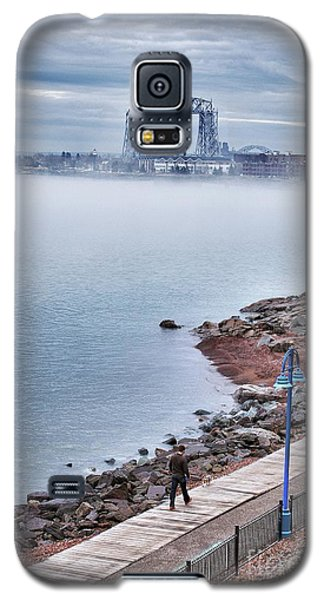 Foggy Lake Superior Afternoon Galaxy S5 Case
