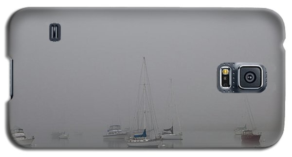 Galaxy S5 Case featuring the photograph Waiting Out The Fog by David Chandler