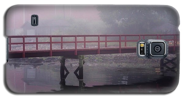 Foggy Morning At The Bridge Galaxy S5 Case