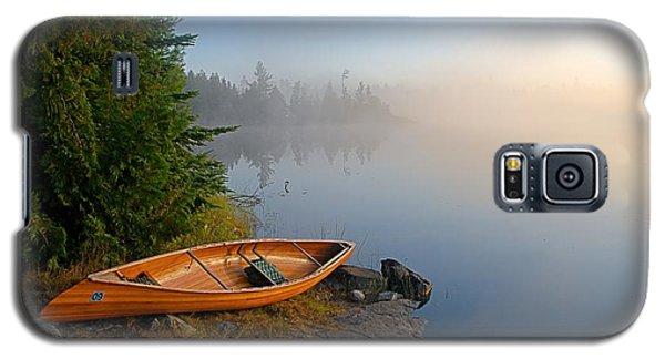 Foggy Morning On Spice Lake Galaxy S5 Case