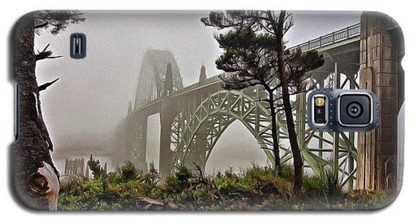 A Foggy Morning On Yaquina Bay Galaxy S5 Case