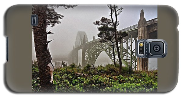 A Foggy Morning On Yaquina Bay Galaxy S5 Case
